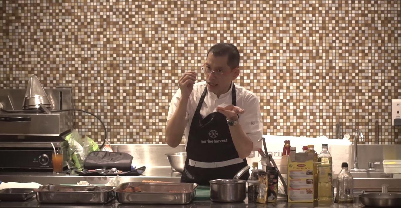 MIDA FOOD Cooking Demo with Marine Harvest